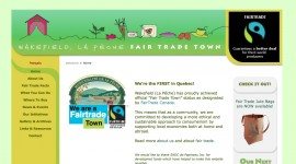 Web Site / Site web • Fair Trade Town / Village équitable