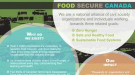 Flyer / Circulaire  •  Food Secure Canada