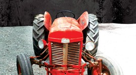 Poster / Affiche • Tractor (the band/le groupe)